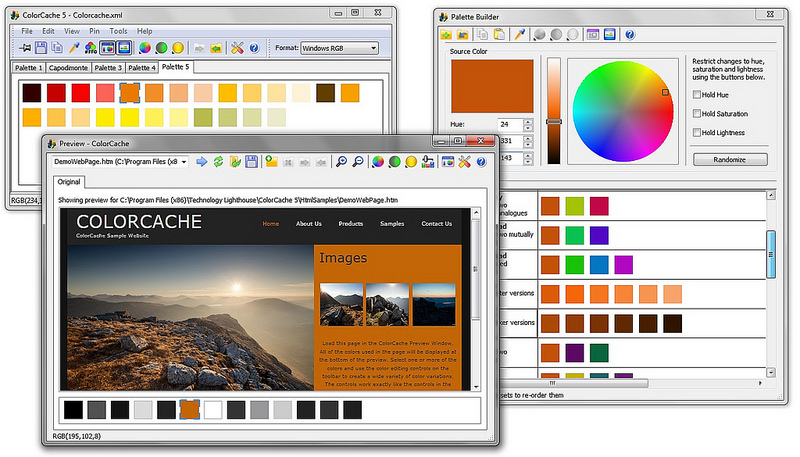 ColorCache 5.0.2.0 Screen shot